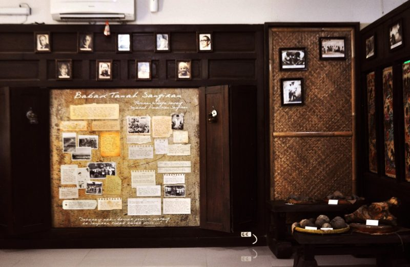 Wall of History Babad Sangiran